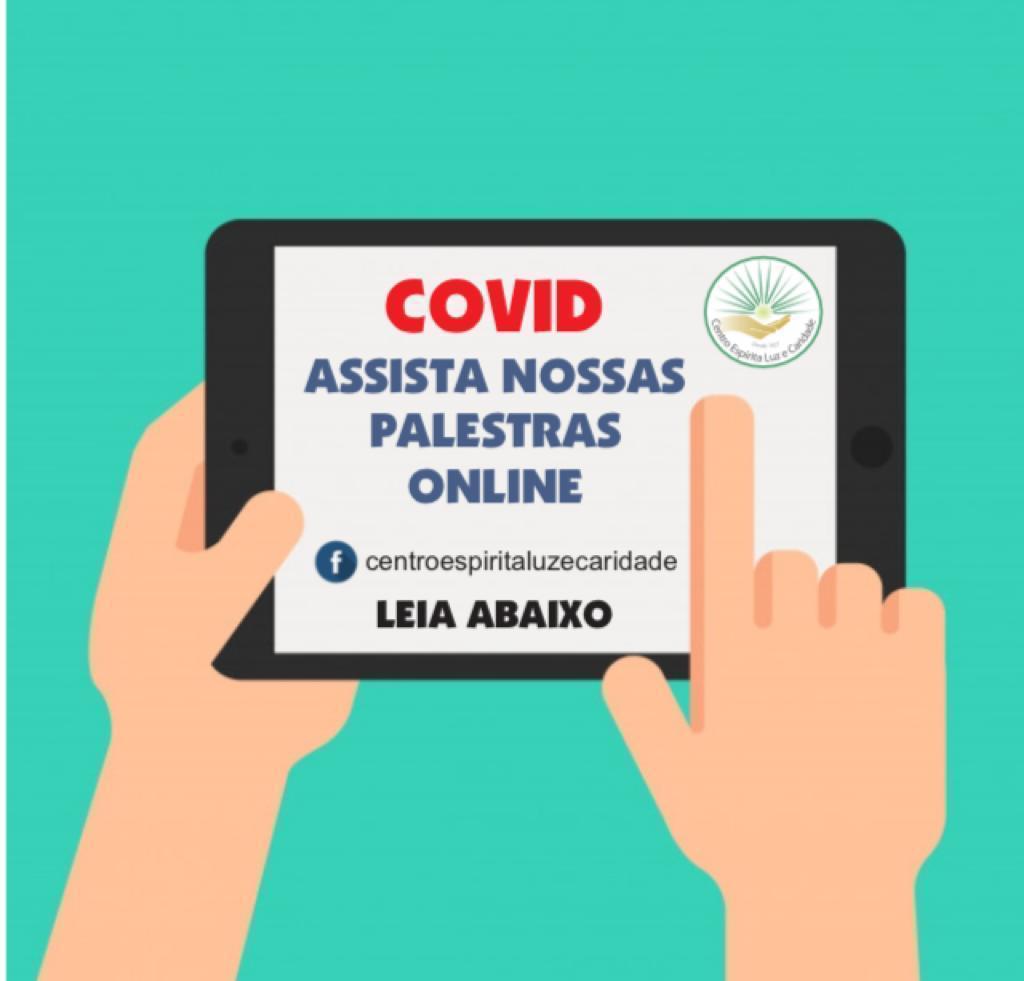 PALESTRAS PÚBLICAS DO CENTRO ESPÍRITA LUZ E CARIDADE - CLIC AQUI